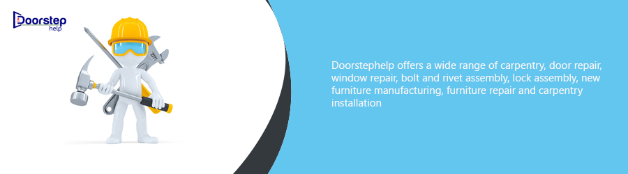 Doorstep help Image describing given product or services
